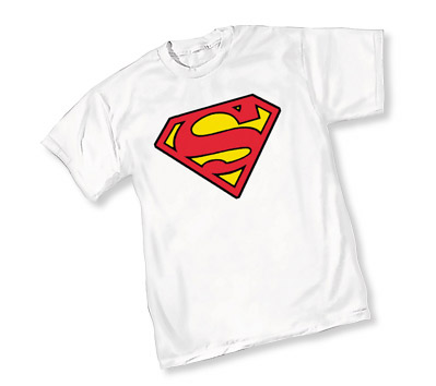 SUPERMAN SYMBOL WHITE YOUTH T-Shirt