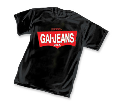 KABUKI: GAI-JEANS LOGO T-Shirt by David Mack
