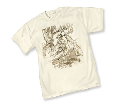 NEAL ADAMS: SAVAGE REVENGE T-Shirt by Neal Adams