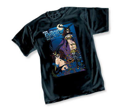 TAROT: WITCH OF THE BLACK ROSE T-Shirt by Jim Balent