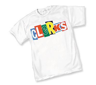 CLERKS LOGO T-Shirt (white)