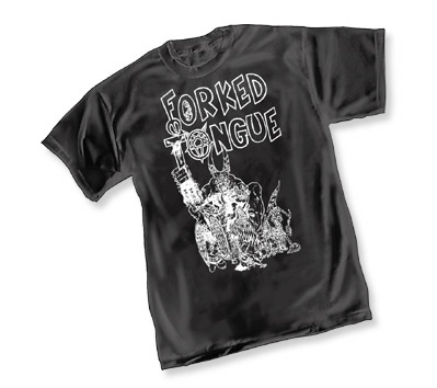 FORKED TONGUE T-Shirt • L/A