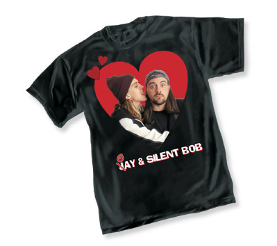 GAY & SILENT BOB T-Shirt • L/A