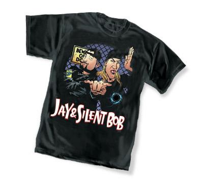 JAY & SILENT BOB I T-Shirt by Matt Wagner • L/A