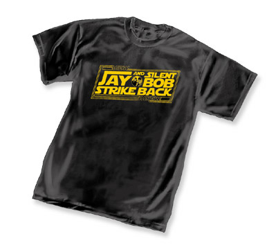 JAY & SILENT BOB STRIKES BACK LOGO T-Shirt