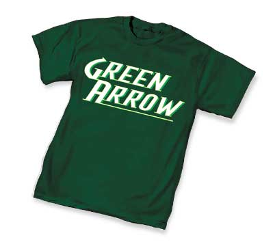 GREEN ARROW LOGO T-Shirt • L/A