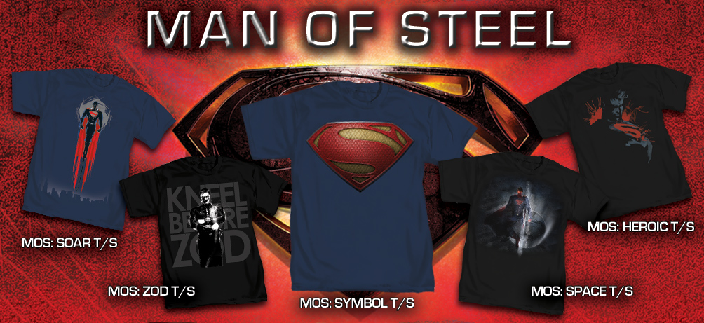 SUPERMAN MOVIE T-SHIRTS