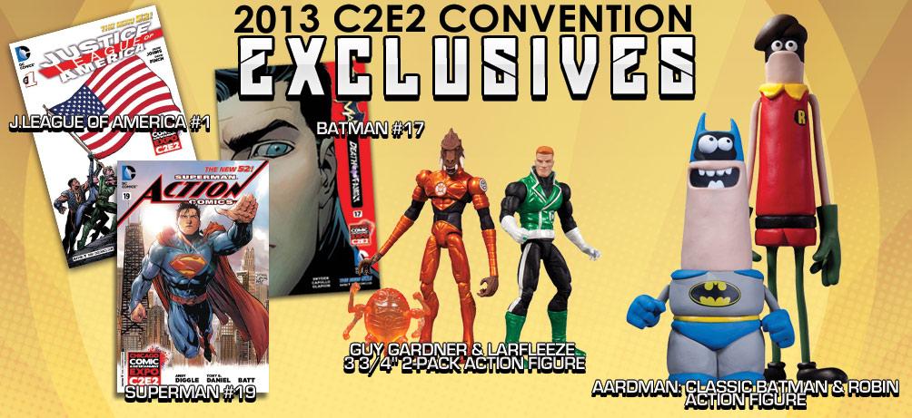 2013 C2E2 EXCLUSIVES