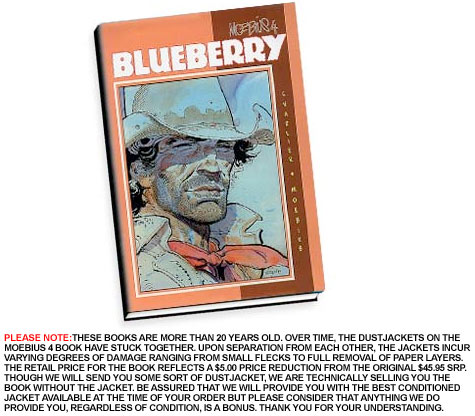 MOEBIUS 4: BLUEBERRY Ltd. Book by Charlier & Giraud