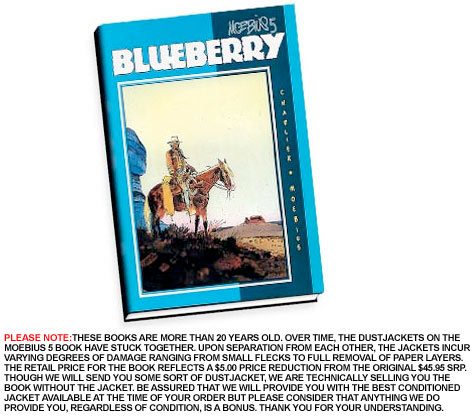 MOEBIUS 5: BLUEBERRY Ltd. Book by Charlier & Giraud