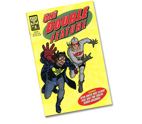 ONI DOUBLE FEATURE #12 Comic (Cover by Allred)