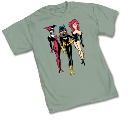 ANIMATED BATMAN: BATGIRL & FRIENDS T-Shirt