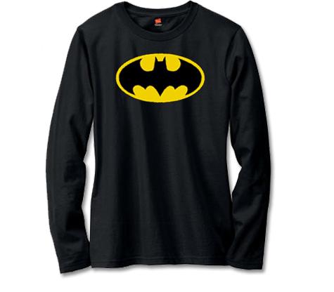 BATMAN SYMBOL Long-Sleeve Shirt