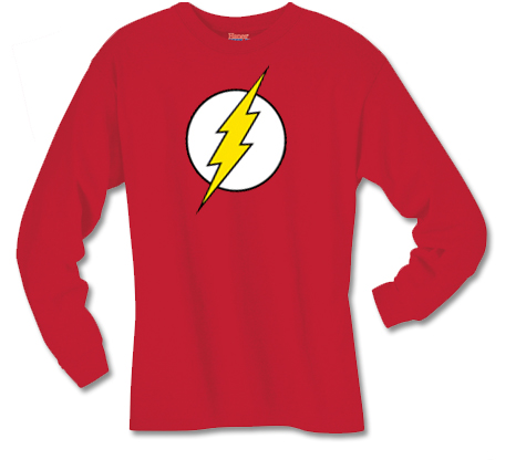 FLASH SYMBOL Long-Sleeve Shirt