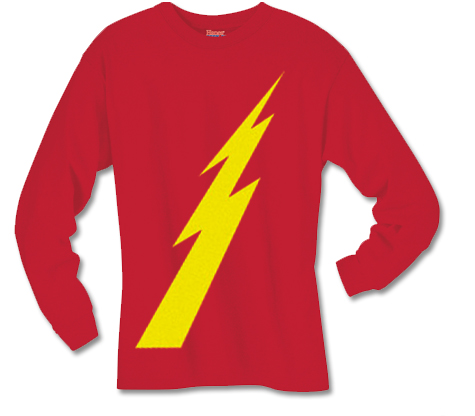 GOLDEN AGE FLASH SYMBOL Long-Sleeve Shirt