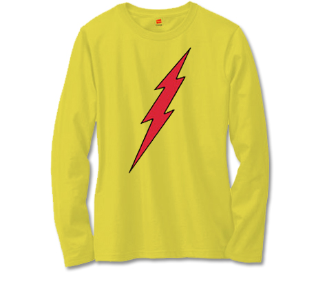 KID FLASH SYMBOL Long-Sleeve Shirt • L/A