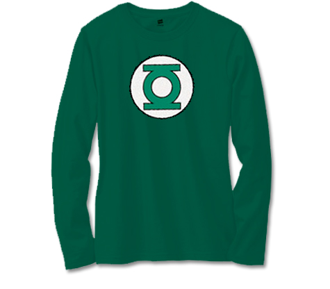 GREEN LANTERN SYMBOL Long-Sleeve Shirt