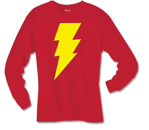 SHAZAM! SYMBOL Long-Sleeve Shirt