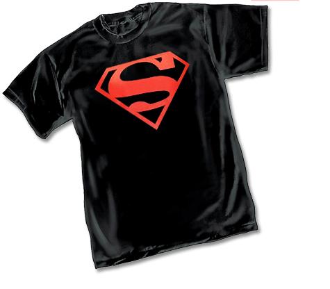 SUPERMAN: CONNER KENT SYMBOL T-Shirt (black)