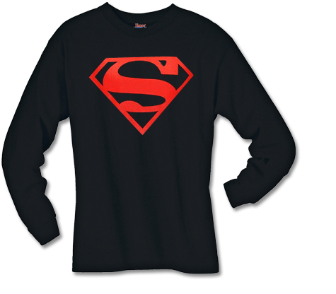 SUPERBOY SYMBOL Long-Sleeve Shirt
