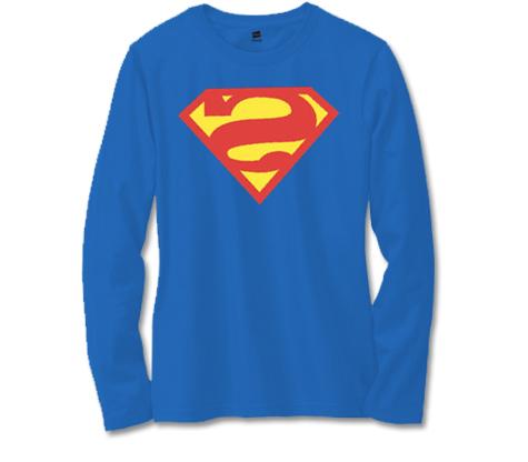 BIZARRO SUPERMAN SYMBOL Long-Sleeve Shirt • L/A