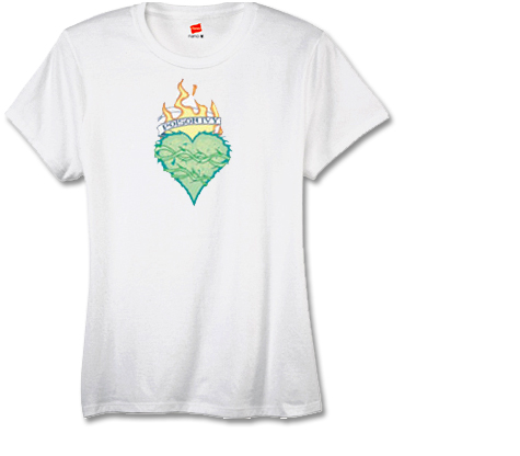 POISON IVY:HEART Women's Tee