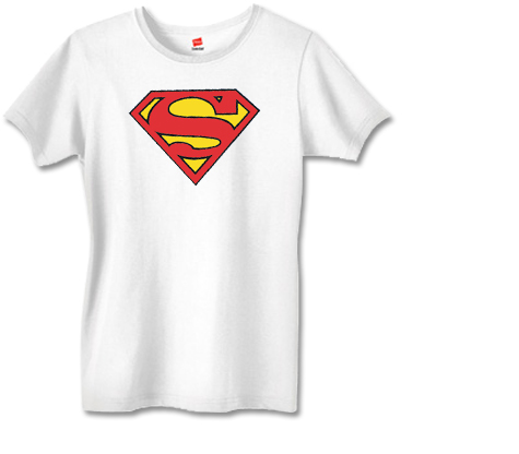 SUPERGIRL SYMBOL Women's Tee (white)