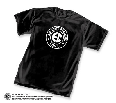 E.C.COMICS LOGO T-Shirt (black)