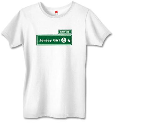 JERSEY GIRL LOGO Women's Tee