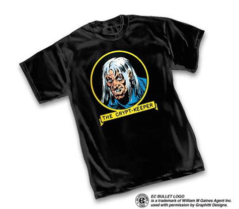 E.C. COMICS: THE CRYPT-KEEPER T-Shirt by Jack Davis