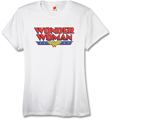 WONDER WOMAN LOGO Women's Tee