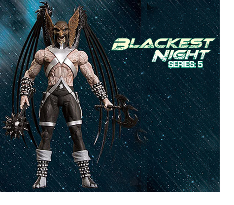 BLACKEST NIGHT: SERIES 5 • HAWKMAN ACTION FIGURE