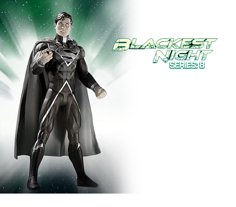 BLACKEST NIGHT: SERIES 7 • SUPERMAN ACTION FIGURE