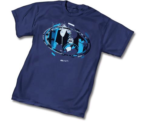 BATMAN FRACTURE SYMBOL T-Shirt