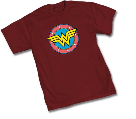 WONDER WOMAN SHIELD SYMBOL T-Shirt