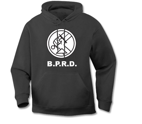 HELLBOY: B.P.R.D. LOGO Hoodie