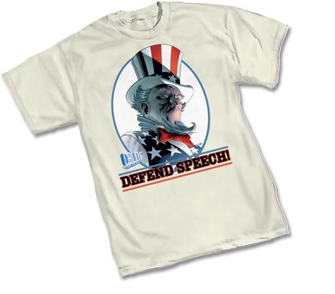 CBLDF: UNCLE SAM T-Shirt by John Cassaday