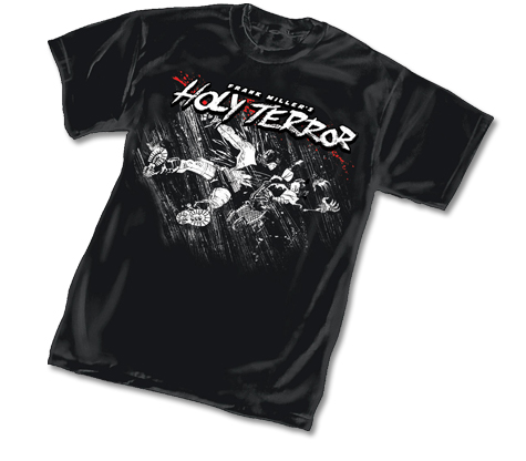 HOLY TERROR I T-Shirt by Frank Miller