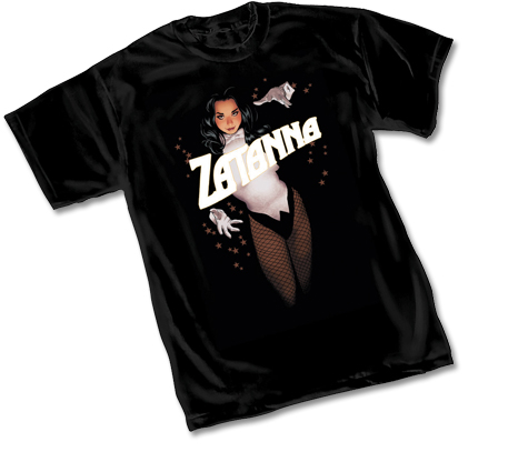 ZATANNA T-Shirt by Adam Hughes