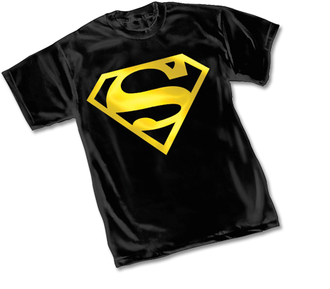 SUPERMAN METALIX SYMBOL YOUTH T-Shirt