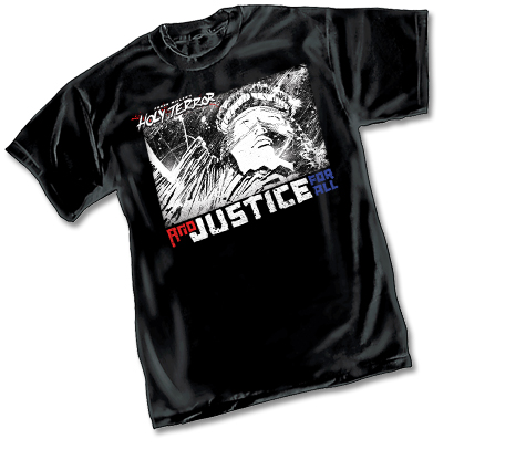 HOLY TERROR: LIBERTY T-Shirt by Frank Miller