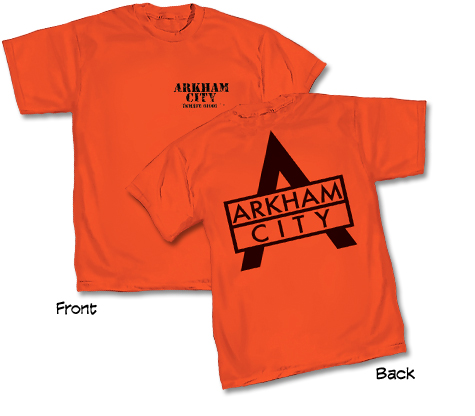 ARKHAM CITY: STAFF T-Shirt