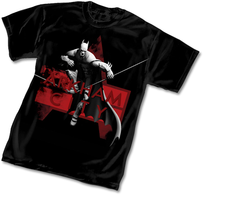 ARKHAM CITY: BATMAN T-Shirt • L/A