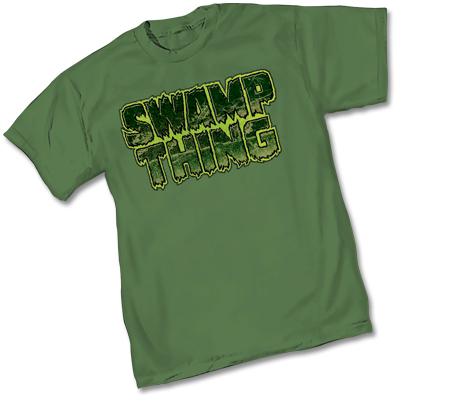 SWAMP THING LOGO T-SHIRT