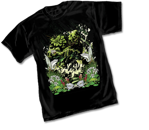 SWAMP THING #1 T-SHIRT by Yanick Maquette • L/A