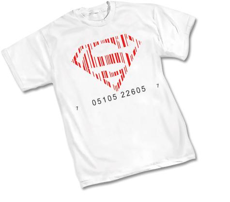 SUPERBOY UPC SYMBOL T-Shirt