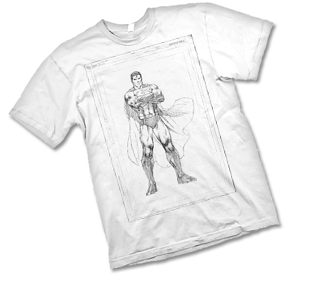 SUPERMAN: RAW T-Shirt by Jim Lee