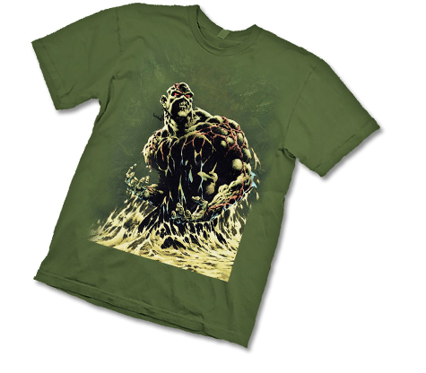 CLASSIC SWAMP THING T-Shirt by Bernie Wrightson