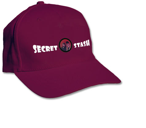 SECRET STASH Embroidered Cap