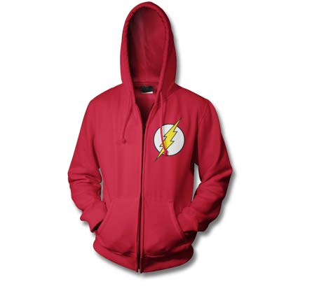 FLASH SYMBOL Full-Zip Hoodie